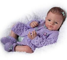AWW! CUDDLE With ME! Posable Newborn 18 Inch Collectors Life Like Baby Girl Doll