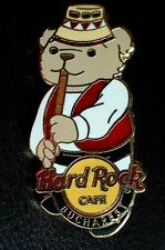 HRC Hard Rock Cafe Bucharest Bear Series Traditional Local Closes 2008 LE500
