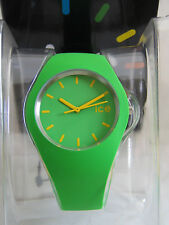 ICE-WATCH GREEN YELLOW ICE.GN.U.S.12 UNISEX GENUINE BNIB WARRANTY