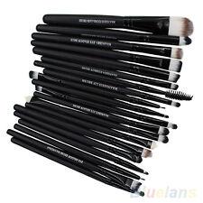 20Pcs Makeup Tool Powder Foundation Eyeshadow Eyeliner Lip Brushes Cosmetic Kits