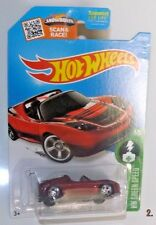 "2016 Hot Wheels #241 Super Treasure Hunt ""TESLA ROADSTER"" w/Protector Pack  VV7"