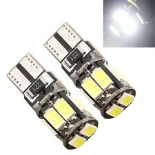 10 X 12V DC Canbus Error Free T10 5630 10 smd Wedge Light Bulb W5W 194 168 2825