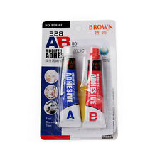 AB Modified Acrylic Adhesive Glue Shoe Goo Repair Tube Shoes Leather Rubber 2 pc