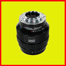 NEW DESIGN Helios-40-2-N 85 mm f/1.5 MC Lens Nikon bayonet mounts.Brand New 2015
