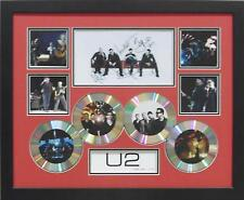 U2 SIGNED LIMITED EDITION FRAMED MEMORABILIA