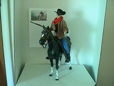"John Wayne True Grit Rooster Cogburn movie Old West 12"" figure"