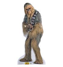 Star Wars CHEWBACCA Chewie Lifesize CARDBOARD CUTOUT Standup Standee Poster