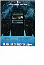 PUBLICITE ADVERTISING  054  1978  TELEFUNKEN  hi-fi  platine tunner ESPACE MUSIC