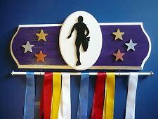 Running Female Sports Medal Display Hanger