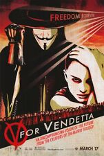 V for Vendetta Advance C Original Movie Poster Single Sided 27X40