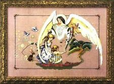 "SALE! COMPLETE X STITCH KIT ""GUARDIAN ANGEL""  MD 72 by Mirabilia"