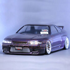 Pandora RC Cars NISSAN SKYLINE R33 GT-R 1:10 Drift 195mm Clear Body Set #PAB-130