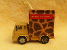 CORGI TOYS BEDFORD TRACTOR UNIT WAMERU SUB-DISTRICT k37
