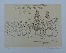 José de ZAMORA (1889) - Parade -Lithographie signée et numérotée - Edition 50ex