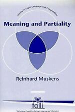 Meaning and Partiality (Studies in Logic, Language, and Information), Muskens, R