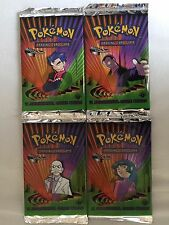 Pokemon 1st Edition Gym Challenge Factory Sealed Booster Packs 4 in Total Rare