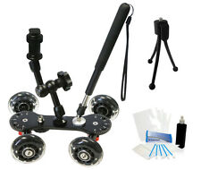 Professional Camcorder Video Skater Glider Dolly for Sony NEX-VG10 NEX-VG20