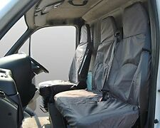 Iveco Daily Front Inka Fully Tailored Waterproof Seat Cover Grey 06-11