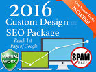 1 Page on Google Be on the Top of Google Search with Custom Design SEO Service