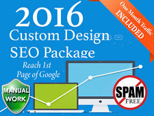 1st Page Google Be on the Top of Google Search with Custom Design SEO Service