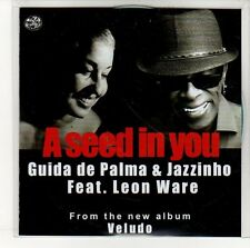 (EN774) Guida De Palma & Jazzinho, A Seed In You - 2013 DJ CD