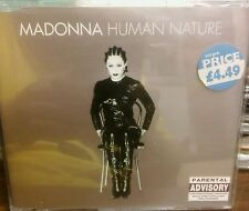 MADONNA Human Nature 1995 German CD EP 4 mixes In not your Burch near mint