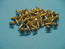 Fits Ford 50 Low Profile  #8-7/16'' Self Tapping Wheel Well Moulding Screws NOS