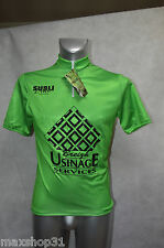 MAILLOT VERT  VELO SUBLI NEUF  TAILLE M/3/ CYCLISME/BIKE JERSEY /MAGLIA SPRINTER