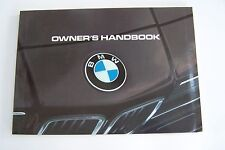 1985 bmw 635csi owners manual e24 parts service new original