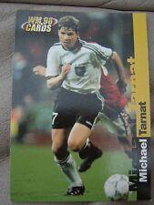 WM 98 Card-s Karte DFB Deutsche Fussball Nationalmannschaft MICHALE TARNAT