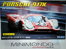 KIT PORSCHE 917K WINNER LE MANS 1970 1/24 FUJIMI 12607 RS49 917