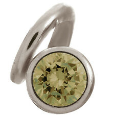 41254-1 Endless Jewelry Sterling Silver Peridot Spring Flower Charm