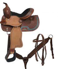 """10"""" Double T  Youth/Pony saddle set"""