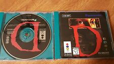 'D' the Game - US 3DO version with manual
