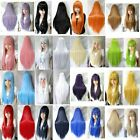 Vogue Women Lady Long Straight Cosplay Wig Heat Resistant Full Wigs 11 Color M91