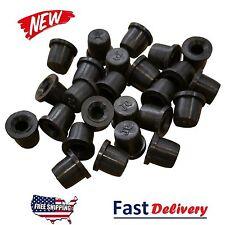 (100 Pack) Brake Bleeder Screw Caps Grease Zerk Fitting Cap Rubber Dust Cover