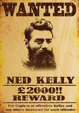 Ned Kelly Querida Repro AFICHE