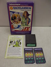 INTELLIVISION BACKGAMMON GAME W/ BOX TESTED