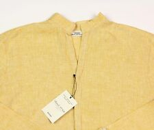 Men's MURANO Gold Sexy Linen Shirt Extra Large XL NEW NWT HOT!!