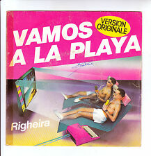 "MICHAEL & JOHNSON RIGHEIRA Vinyl 45T 7"" VAMOS A LA PLAYA DUB -EPIC 3558 F Rèduit"
