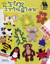 Fun Fridgies ~ 24 Animal Fish Bug Magnet Motifs, Annie's plastic canvas patterns