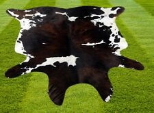 New Multi Colour COW HIDE RUG AREA ANIMAL SKIN (53'' x 52'') COWHIDE ULG-2758