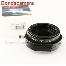 Kipon Tilt Adapter for Nikon F lens to Sony E mount NEX A7 A7R A6000 NEX-7 5T 6
