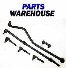 6 Pc Kit For Jeep Grand Cherokee Drag Link Tie Rod Track Bar 2 Yr Warranty
