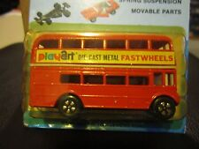 Vintage PlayArt Charmerz Routemaster Double Decker Bus 1:64 Hong Kong MOC