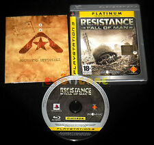 RESISTANCE FALL OF MAN Ps3 Versione Italiana Platinum ••••• COMPLETO
