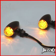 Bullet Style LED Indicators Blinkers Turn Signal For Harley Dyna / Softail