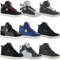 MENS DESIGNER HI TOPS TRAINERS BOYS HIGH ANKLE BASKETBALL BOOTS RETRO SHOES SIZE