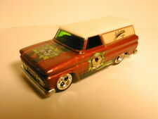 LOOSE Hotwheels Nostalgia Hanna Barbara 64 GMC PANEL YOGI BEAR  real riders RR