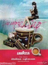 Publicité advertising 2010 Le café lavazza